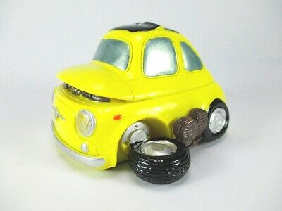 Spardose defektes Auto Wagen Autopanne Sparschwein 12cm,Money Box Bank