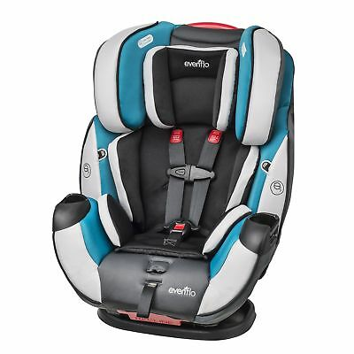 Evenflo Symphony DLX All-In-One Convertible Car Seat, Modesto Only Car Seat