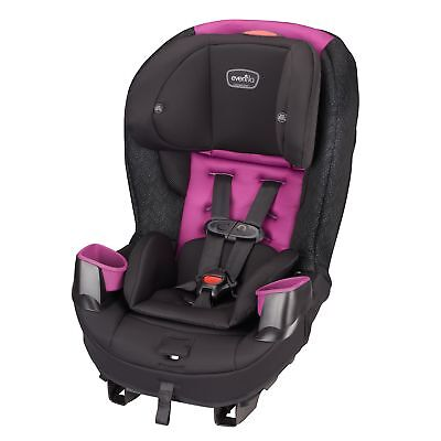 Evenflo Stratos 65 Convertible Car Seat, Pink Sunset Only Car Seat