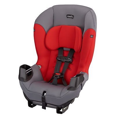 Evenflo Sonus Convertible Car Seat, Lava Red Only Car Seat