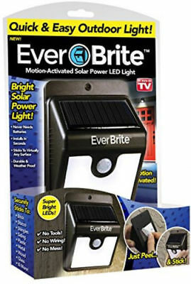 Ever Brite Motion-Activated Solar Power Outdoor Led Motion Light