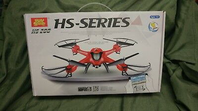 Holy Stone HS200 FPV RC Drone with HD Wifi Camera Live Feed 2.4GHz 4CH 6-Axis Gy