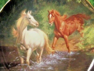 """""""free As The Wind"""" British Horse Society Franklin Mint By Bk Linklater Coa"""