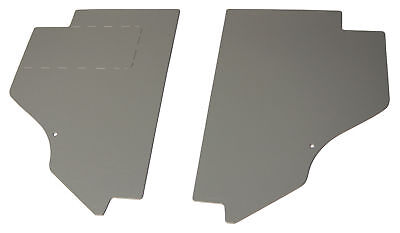 1953-55 Ford pickup / Ford truck Cowl Kick Panels GRAY