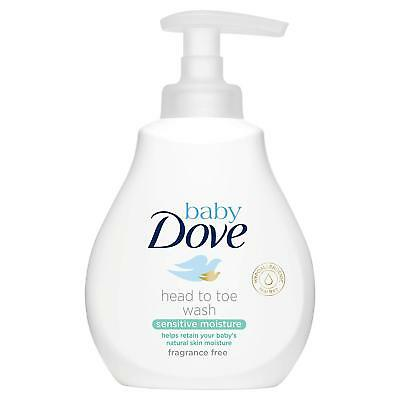 Dove Baby Head To Toe Sensitive Moisture Wash Fragrance Free - 200Ml