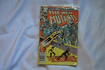 The New Mutants #2 (1983) VF/NM Condition