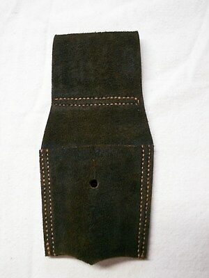 Civil War USN 1860 Cutlass Frog , Made from Imported English Buff Leather