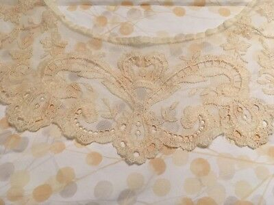 Vintage Lace Collar for Dress, Circa pre-WWII