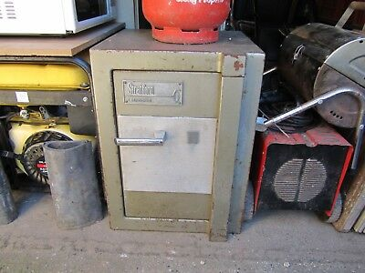 Stratford Stronghold Safe, Key Locked with Shelf and Extra Security Floor Bolts