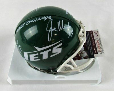 5745eec69 New York Sack Exchange Signed Riddell Jets Mini Helmet - Gastineau Klecko  Lyons