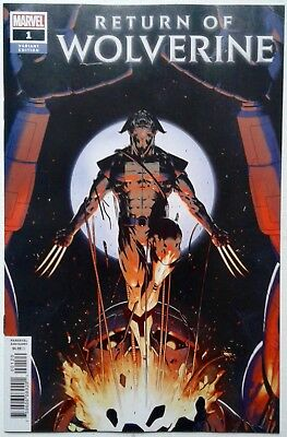 RETURN OF WOLVERINE #1 Christopher VARIANT Soule McNiven NM 1st print