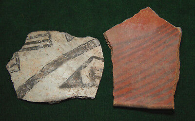 Lot of Native American Indian Pottery Shards -