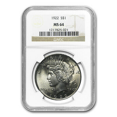 1922 Peace Dollar MS-64 NGC - SKU #4745