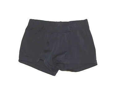 BALERA Girls Black Dance Gymnastic Nylon Shorts Size MC Medium Child 6 7 8