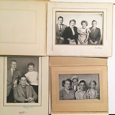 Vintage Family Photos 1940s - 50s Mother & Children Boys and Girls Growing Up