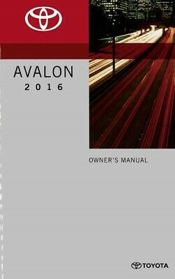 2015 Toyota Avalon Owners Manual User Guide Reference Operator Book Fuses Fluids