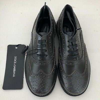 BNWT Dolce & Gabbana brogue shoes size EU 28 (UK 10) luxury designer RRP£260