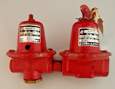 Bell & Gossett #8 Dual Unit 110190 B-38 Reducing Valve & 110005 Relief Valve