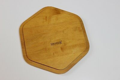 Six Sided Longaberger Basket Lid in Classic Stain