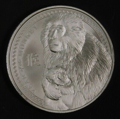 2016 Year of the Monkey 1 oz .999 Fine Silver Round Provident Metals