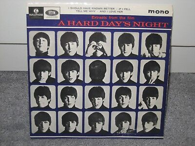 """EP-Single The Beatles """"A hard Day´s Night"""" u. 3 weitere Songs!"""