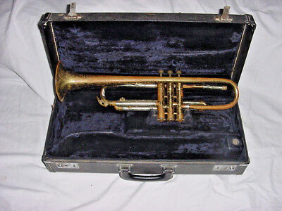 Early Vintage Pioneer Concert Trumpet Elkhart Indiana