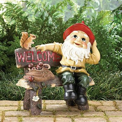 Gnome Garden Statues Figurine - all-weather BRAND NEW!!!