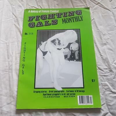 Fighting Gals Magazine From Swish Publications No 153   Vintage Female Combat