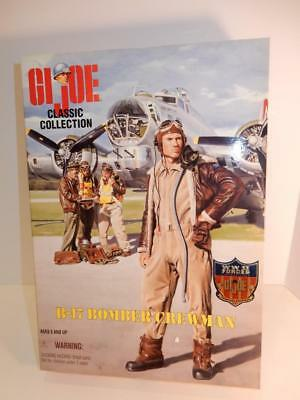 Gi Joe Classic Collection B-17 Bomber Crewman Mib Limited Edition Mint In Box