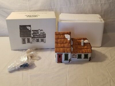 Dept 56 Dickens Village The Cottage of Bob Cratchit and Tiny Tim FREE SHIPPING