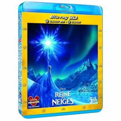Blu-ray - La Reine des neiges [Combo Blu-ray 3D + Blu-ray 2D] - Chris Buck,Jenni