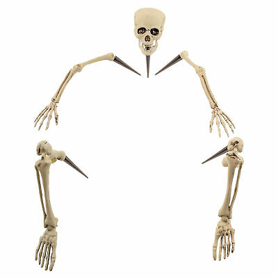 Halloween Haunters Lifesize Ground Breaking Skeleton