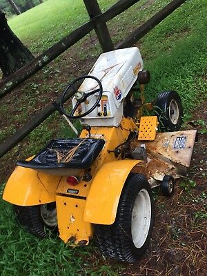 Sears Custom 10xl Garden Tractor Craftsman Roebuck Lawn Mower Project Parts