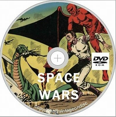 Space war comics 1959 series Issues 1 -27 On Dvd Rom