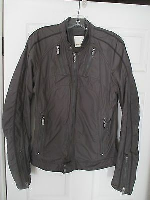 Diesel Jurlo Moto trim-fit jacket / coat Men's Size L