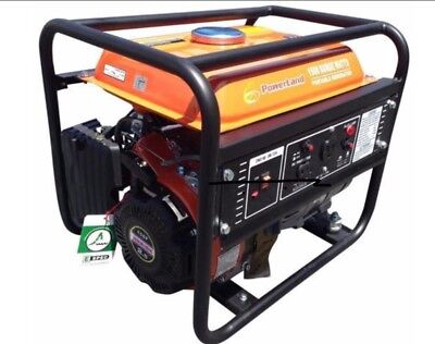 PowerLand PD2000 Portable 1500 Watt 2.4HP Gas Generator/Recoil Start