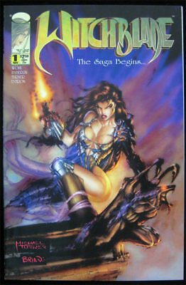 Witchblade #1  First Print 1995 Image 1st App Sara Pezzini Michael Turner SHARP!