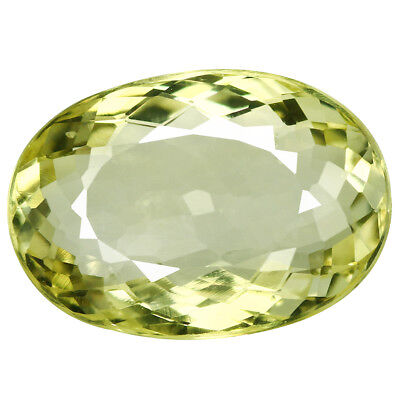 3.95Ct Exclusive Oval cut 13 x 9 mm 100% Natural AAA Yellow Beryl