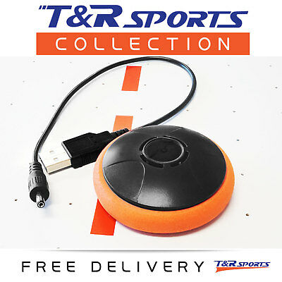 Air Powered Electronic Air Hockey Puck Rechargeable for Air Hockey Table Top