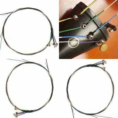 Full Set Alloy Violin String Fiddle String Replacement For 3/4 1/2 Violin 4Pcs