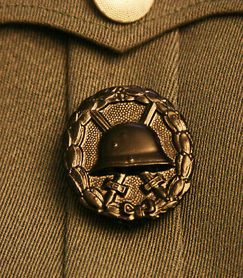 German Imperial Wwi Army Black Wound Badge