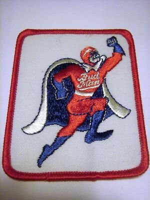 Bud Man Euro style fabric Patch
