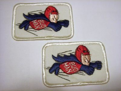 Bud Man Sew on Patches two patches of Flying Bud Man