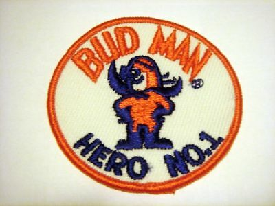 Bud Man Hero No. 1 Fabric Patch