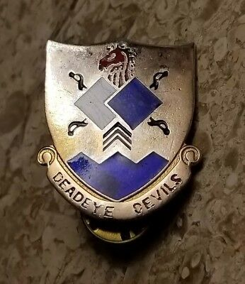 WW2 US ARMY 96th Infantry Division Distinguished Unit Insignia, Unit Crest