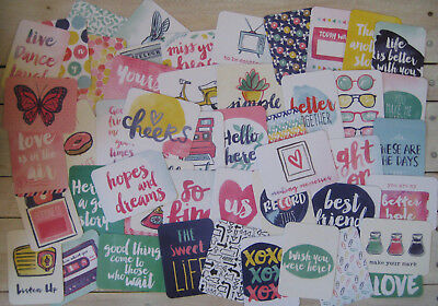 """'better Together' Edition Project Life Cards By Becky Higgins -3"""" X 4"""" - 50 Pack"""