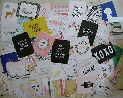 """'gather' Edition Project Life Cards By Becky Higgins - 3"""" X 4"""" - 50 Pk"""