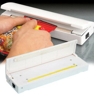 AU Portable Sealing Machine Heat Handheld Plastic Bag Sealer Seal Kitchen Tool