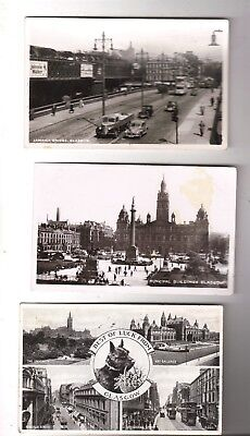 Three Real Photographics, Glasgow: Jamaica Bridge, Municipal Buildings, M-View