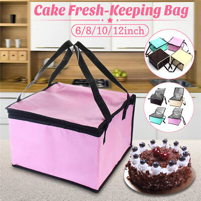 Foldable Waterproof Thermal Cooler Insulated Lunch Box Storage Picnic Large Bag